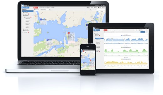 Data over the web aquaculture