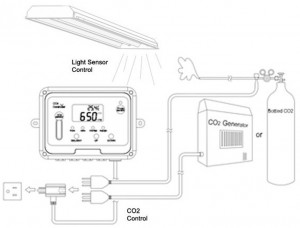 CO2 Flow Meter and Detector