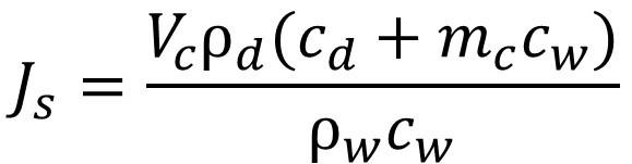 Sap Flux Density or Sap Flow Equation