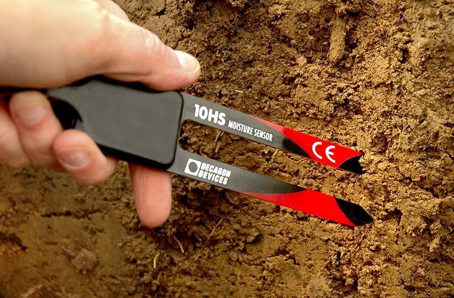 10HS large volume soil moisture sensor