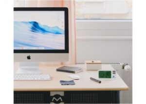 CO2 and COVID Desktop Office Monitor